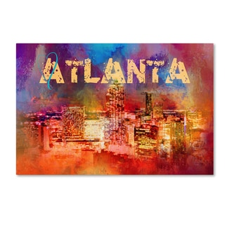 Jai Johnson 'Sending Love To Atlanta' Canvas Art