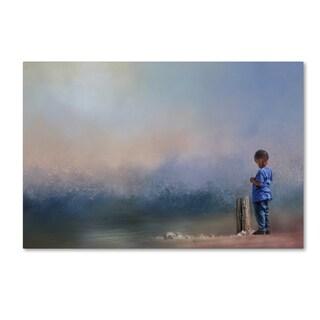 Jai Johnson 'Little Rock Collector' Canvas Art