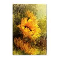 Jai Johnson 'Impressionist Sunflowers' Canvas Art