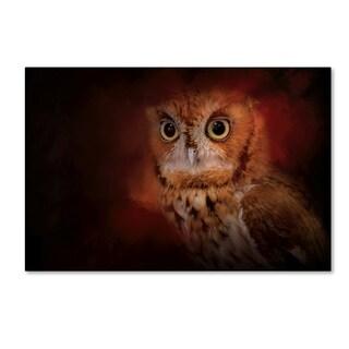 Jai Johnson 'Halloween Owl' Canvas Art
