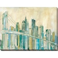 """""""New York City Sketch"""" Giclee Stretched Canvas Wall Art"""