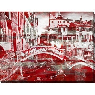 """PPI Studio """"VENICE 2"""" Giclee Stretched Canvas Wall Art"""