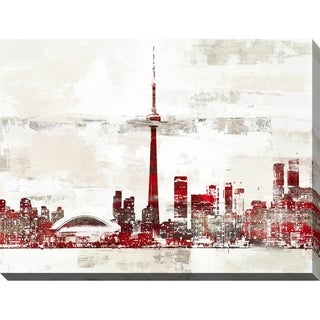 """PPI Studio """"Toronto 2"""" Giclee Stretched Canvas Wall Art"""