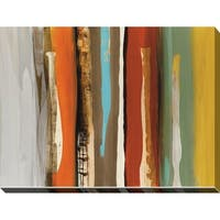 """""""Luna Park"""" Giclee Stretched Canvas Wall Art"""