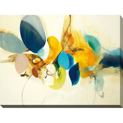 """""""Candid Color"""" Giclee Stretched Canvas Wall Art"""