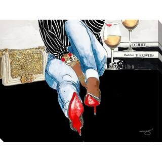 """BY Jodi """"Waiting on you"""" Giclee Stretched Canvas Wall Art"""
