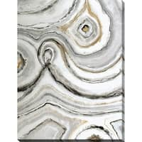 """Shades of Gray i"" Giclee Stretched Canvas Wall Art"