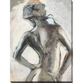 Gestures II' Giclee Stretched Canvas Wall Art