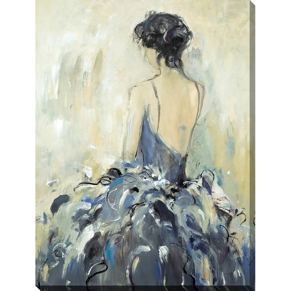"""""""Fond Reflections"""" Giclee Stretched Canvas Wall Art"""