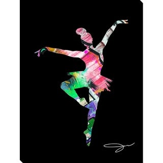 BY Jodi 'Dancer 4' Giclee Stretched Canvas Wall Art