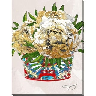 BY Jodi 'Freshly cut 2' Giclee Stretched Canvas Wall Art