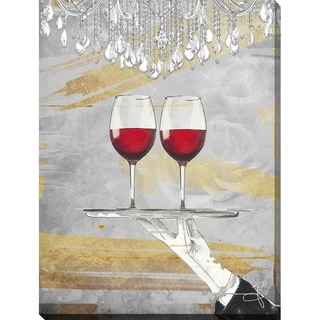 BY Jodi 'Cheers' Giclee Stretched Canvas Wall Art