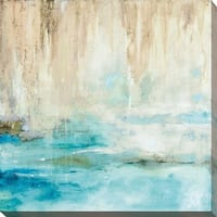 Through the Mist II' Giclee Stretched Canvas Wall Art