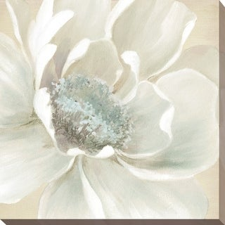 """""""Winter Blooms I"""" Giclee Stretched Canvas Wall Art"""