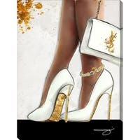 BY Jodi 'The higher the heel' Giclee Stretched Canvas Wall Art
