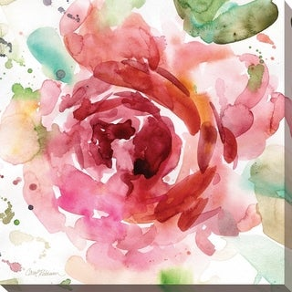 Bold Blush III' Giclee Stretched Canvas Wall Art