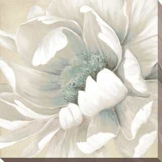 Winter Blooms II' Giclee Stretched Canvas Wall Art