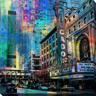 PPI Studio 'Chicago' Giclee Stretched Canvas Wall Art