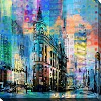 "PPI Studio ""Flatiron Building, Toronto"" Giclee Canvas Wall Art"