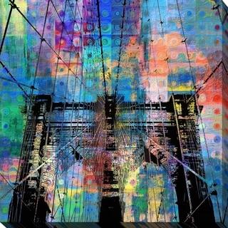 PPI Studio 'Brooklyn Bridge' Giclee Stretched Canvas Wall Art