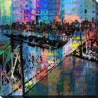 """PPI Studio """"New York"""" Giclee Stretched Canvas Wall Art"""
