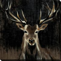 """Young Buck"" Giclee Stretched Canvas Wall Art"