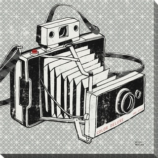 Vintage Analog Camera' Giclee Stretched Canvas Wall Art