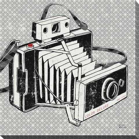 """""""Vintage Analog Camera"""" Giclee Stretched Canvas Wall Art"""