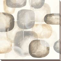 """Neutral Stones III"" Giclee Stretched Canvas Wall Art"