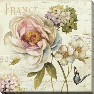 Marche de Fleurs III' Giclee Stretched Canvas Wall Art