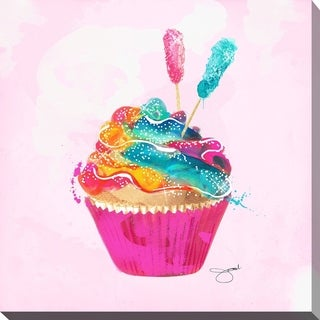 BY Jodi 'Cupcake 2' Giclee Stretched Canvas Wall Art