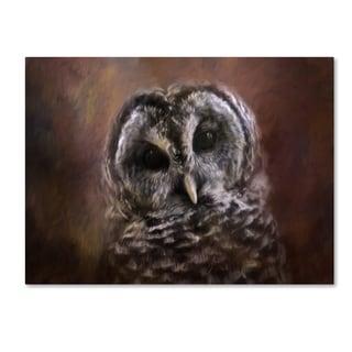 Jai Johnson 'The Curious Owl' Canvas Art
