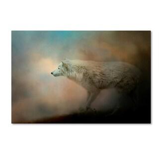 Jai Johnson 'Journey Of The Timber Wolf' Canvas Art