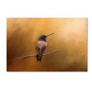 Jai Johnson 'Hummingbird in Autumn' Canvas Art