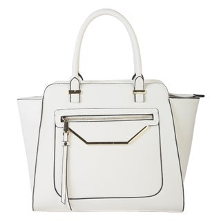 Rimen & Co.Shell Shape Tote Bag (Option: White)