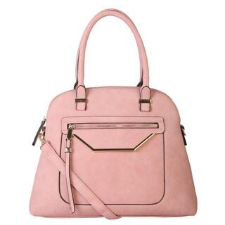 Rimen and CoTop Handle Fashion Tote Satchel Handbag