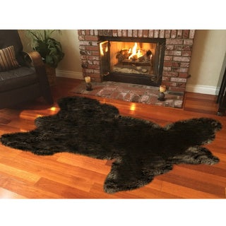 Legacy Faux Fur Animal Skin Shag Rug - 4' x 6'