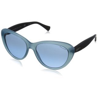 Polo Ralph Lauren Cateye 5189 Womens Aqua Tortoise Frame/Blue Lens Sunglasses