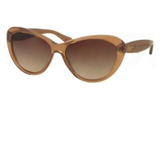 Polo Ralph Lauren Cateye RA5189 Womens Brown Frame/Brown Lens Sunglasses