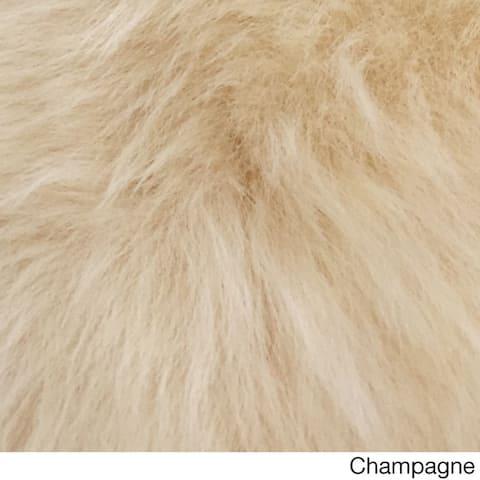 Legacy Faux Sheepskin 4-Pelt Shag Runner Rug (3' x 8')