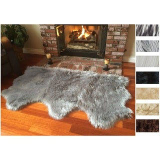 "Legacy Sheepskin 3-Pelt Shag Rug (3' x 5'6"")"
