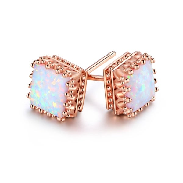 silver earrings mexican opal amazon stud fire dp com sterling