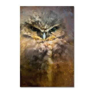 Jai Johnson 'Burrowing Owl' Canvas Art
