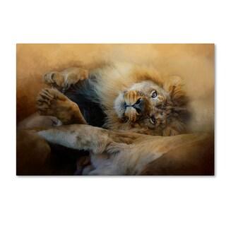 Jai Johnson 'Lion Love 2' Canvas Art