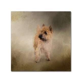 Jai Johnson 'Did I Hear You Say Walk Cairn Terrier' Canvas Art