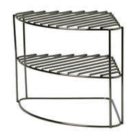 Laura Ashley's 3 Tier Corner Rack in Onyx