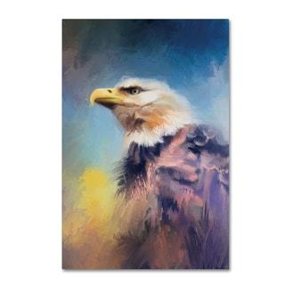 Jai Johnson 'Eagle On Guard' Canvas Art