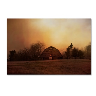 Jai Johnson 'The Old Barn On A Fall Evening' Canvas Art