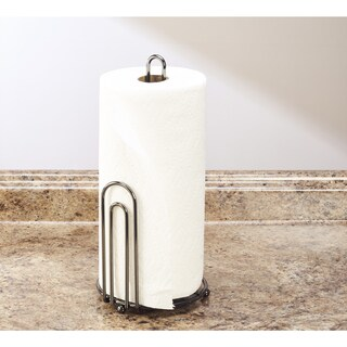 Laura Ashley Paper Towel Holder in Onyx