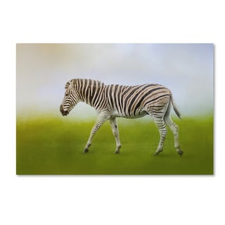 Jai Johnson 'Journey Of The Zebra' Canvas Art